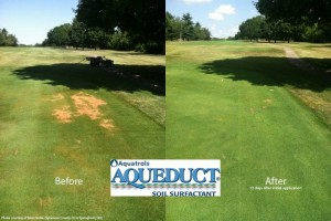 Wetting agents --na suche place AQUEDUCT